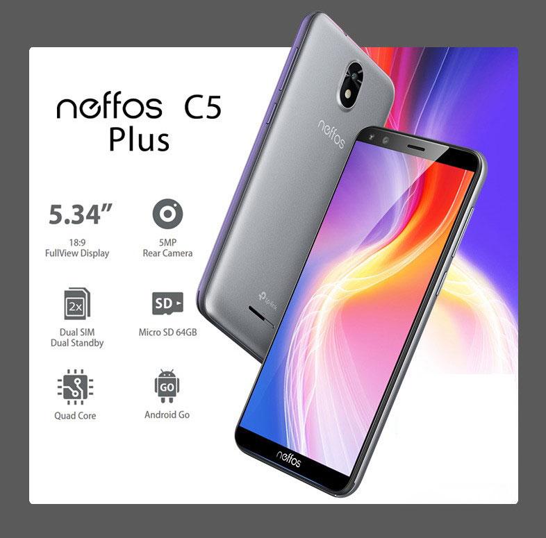 Αποκτήστε το νέο smartphone neffos C5 Plus σε προσιτή τιμή, με οθόνη 18:9 και Android Go!